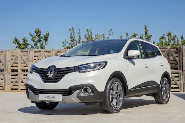 Renault Kadjar Europe June 2016. Picture courtesy largus.fr