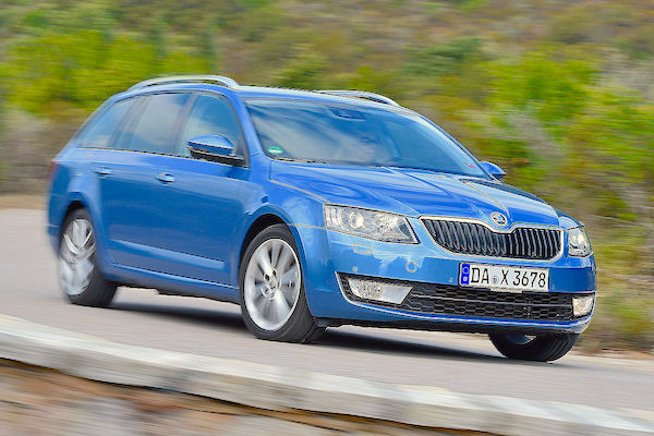 Skoda Octavia Germany June 2015. Picture courtesy autobild.de