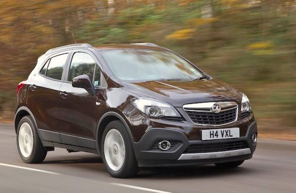 Vauxhall Mokka UK October 2015. Picture courtesy autocar.co.uk