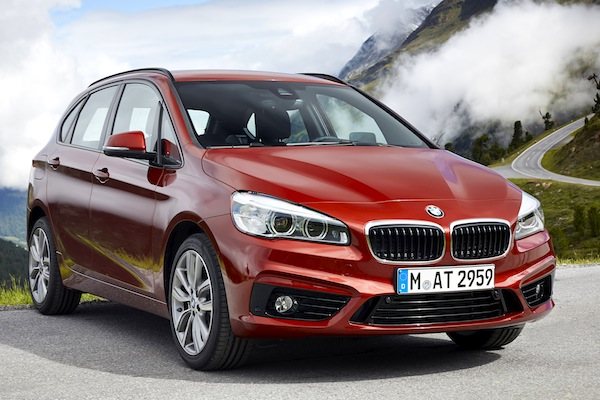 BMW 2 Series Active Tourer Switzerland July 2015