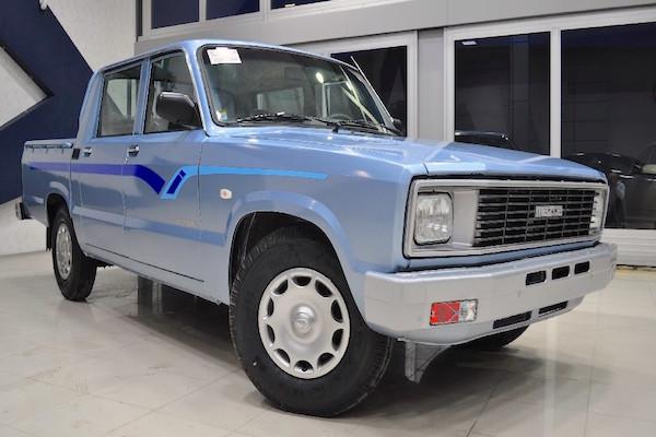 Bahman Mazda 2000 Iran. Picture courtesy khodrobank.ir