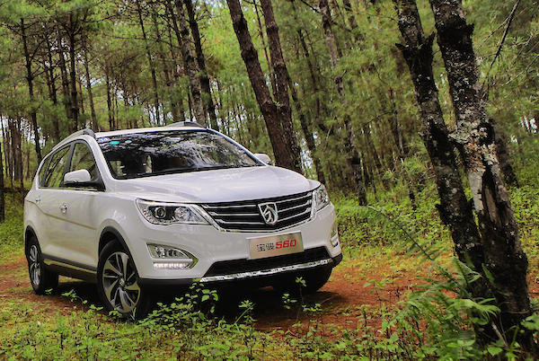 Baojun 560 China July 2015