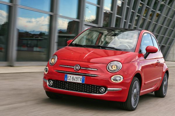 Fiat 500 Europe March 2016. Picture courtesy largus.fr