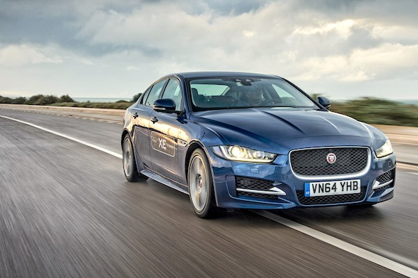 Jaguar XE UK July 2015