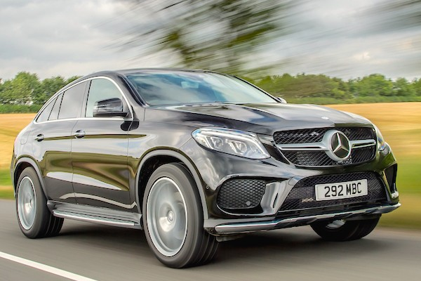 Mercedes GLE UK July 2015