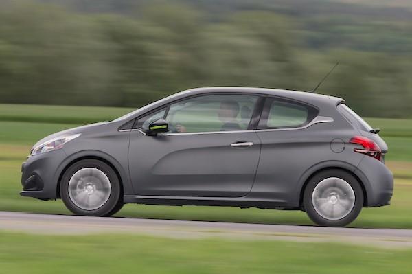 Peugeot 208 Denmark July 2015