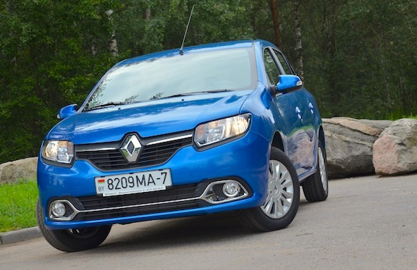 Renault Logan Belarus June 2015. Picture courtesy ruh.by