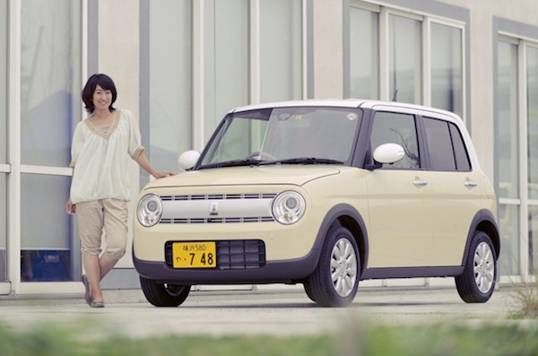 Suzuki Lapin Japan July 2015. Picture courtesy autoc-one.jp