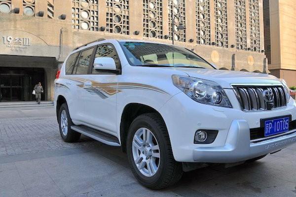 Toyota Land Cruiser Prado China 2015. Picture courtesy cheshi.com