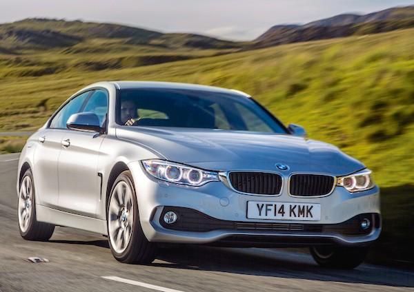 BMW 4 Series Gran Coupe UK June 2015