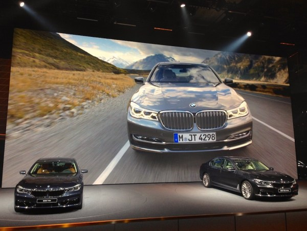 BMW 7 Series Frankfurt 2015