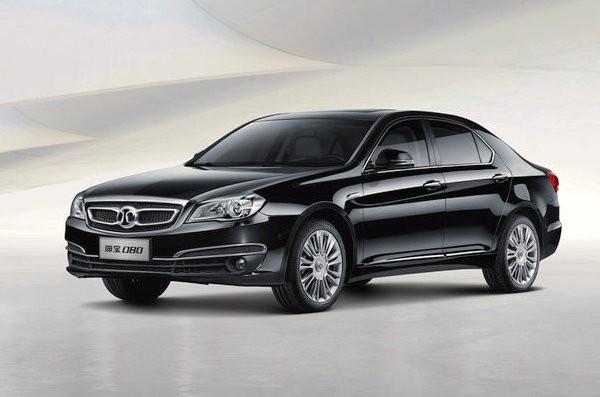 Beijing Auto Senova D80 China August 2015