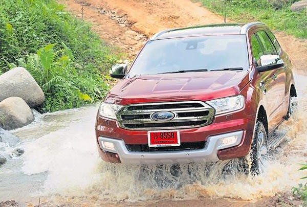 Ford Everest Thailand August 2015. Picture courtesy bangkokpost.com