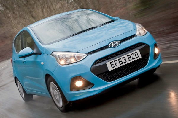 Hyundai i10 South Africa August 2015