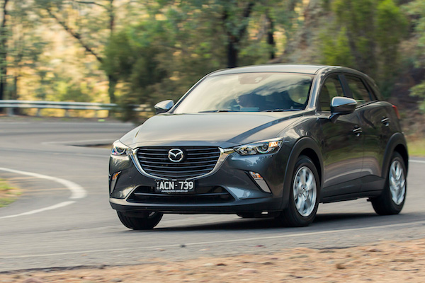 Mazda CX-3 Ausrtralia February 2016. Picture courtesy caradvice.com.au