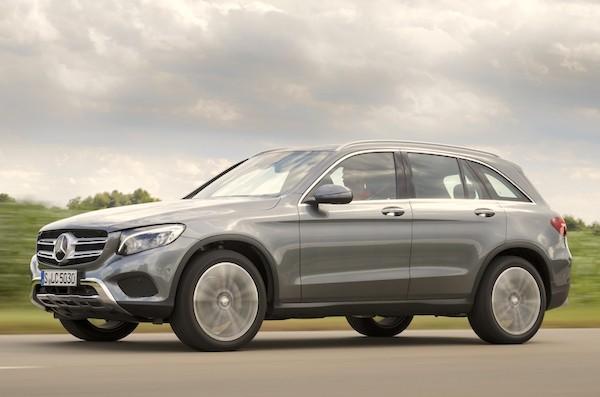 Mercedes GLC Spain September 2015