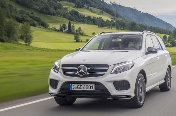 Mercedes GLE USA August 2015. Picture courtesy motortrend.com
