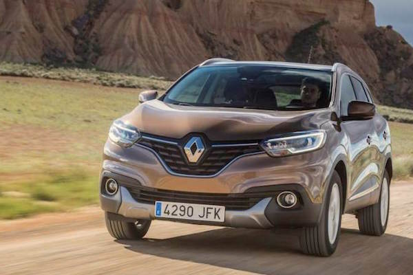 Renault Kadjar Sweden August 2015. Picture courtesy expressen.se
