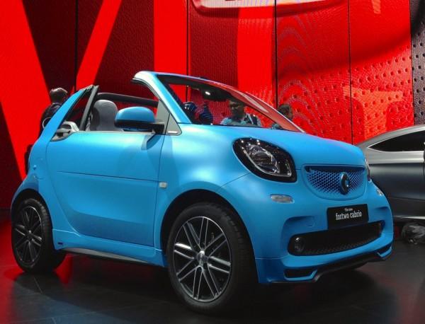 Smart Fortwo Cabrio Frankfurt 2015