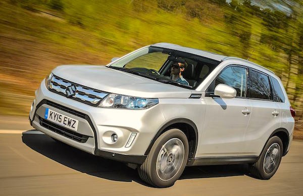 Suzuki Vitara Hungary 2015. Picture courtesy whatcar.co.uk