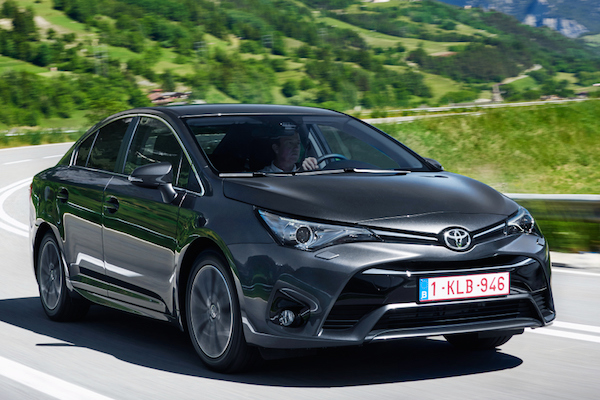 finland august 2015 toyota avensis back in the game best selling cars blog. Black Bedroom Furniture Sets. Home Design Ideas