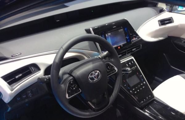 Toyota Mirai Interior Frankfurt 2015