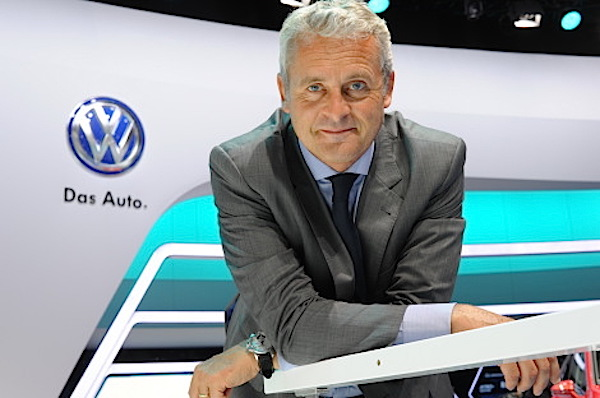 Volkswagen France Director Aranaud Barral. Picture courtesy largus.fr