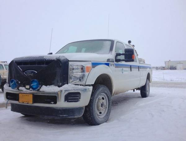 1. Ford F-350 Prudhoe Bay