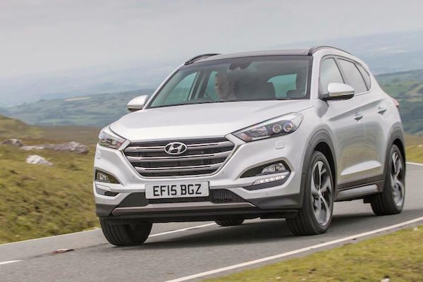 Hyundai Tucson Northern Ireland June 2016. Picture courtest autoexpress.co.uk