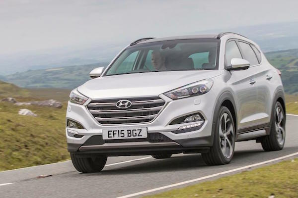 Hyundai Tucson Northern Ireland June 2016. Picture courtest autoexpress.co.uk