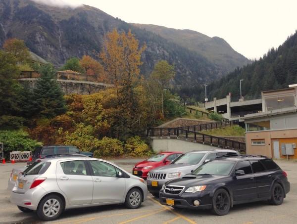 Juneau street scene
