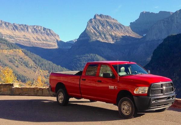 Ram 2500 Montana USA October 2015