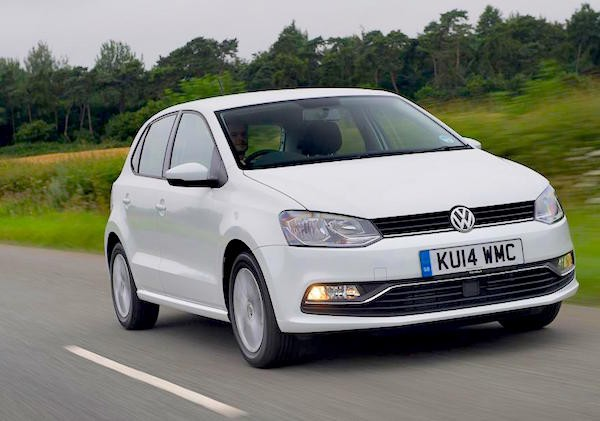 VW Polo Netherlands January 2016. Picture courtesy autoexpress.co.uk