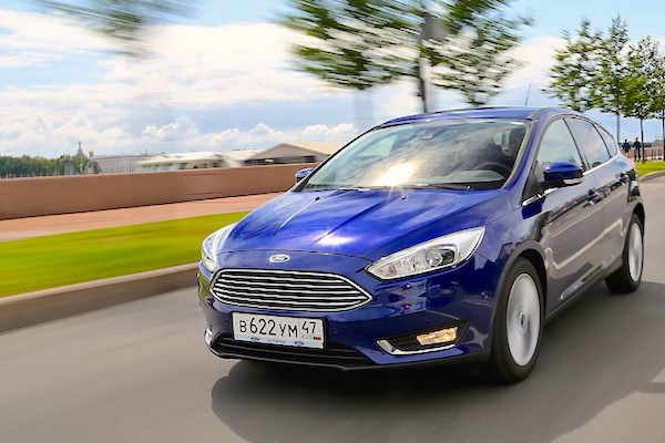 Ford Focus Russia March 2016. Picture courtesy zr.ru