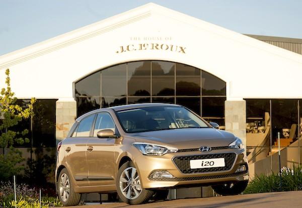 Hyundai i20 South Africa September 2015