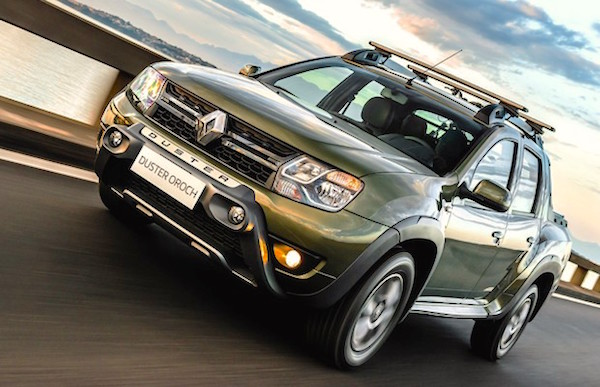 Renault Duster Oroch Brazil October 2015