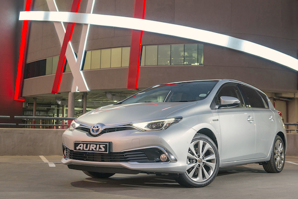 Toyota Auris Spain July 2016