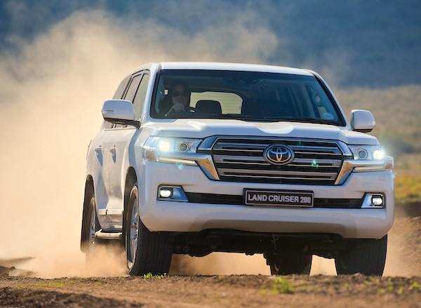 Toyota Land Cruiser Jordan July 2016
