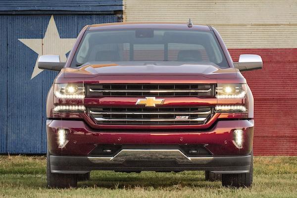 Chevrolet Silverado 2016