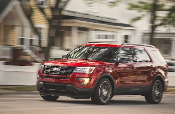 Ford Explorer Venezuela October 2016. Picture courtesy caranddriver.com