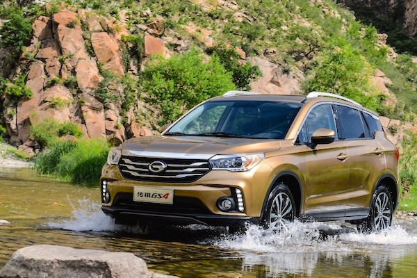 GAC Trumpchi GS4 China November 2015
