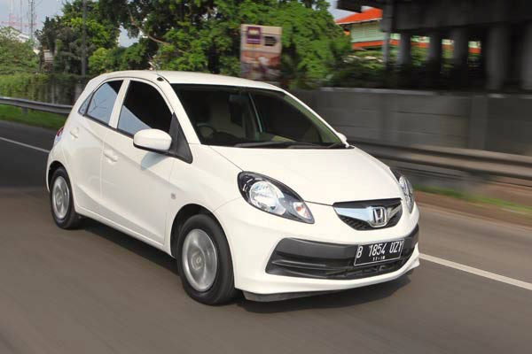 Honda Brio Satya Indonesia November 2015. Picture courtesy autobild.co.id