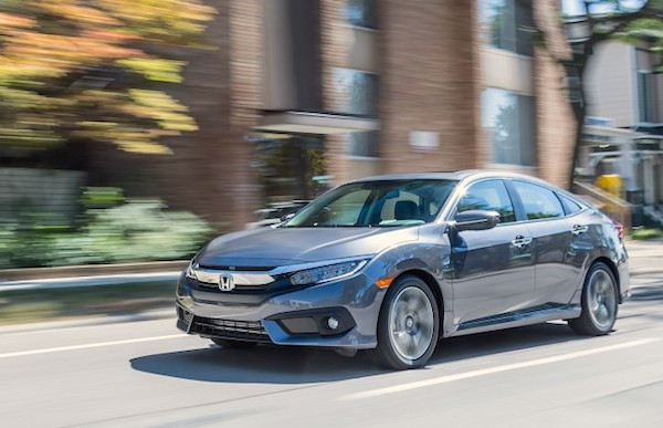 Honda Civic Canada August 2016. Picture courtesy caranddriver.com