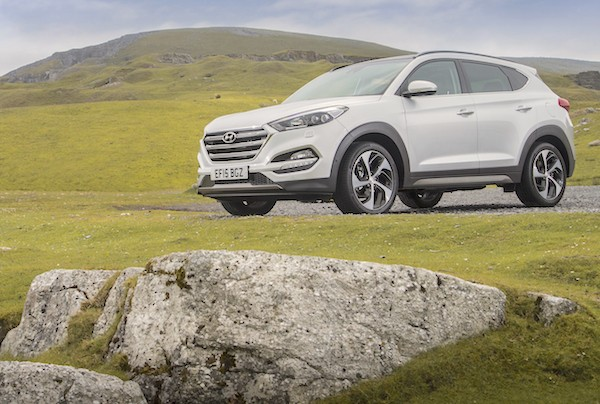 Hyundai Tucson Northern Ireland November 2015