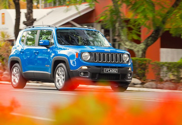 Jeep Renegade World 2015