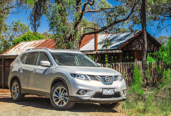 Nissan X-Trail Australia November 2015. Picture courtesy caradvice.com.au
