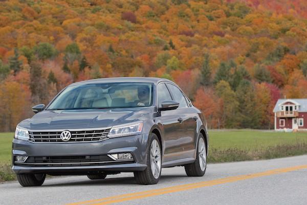 VW Passat USA November 2015
