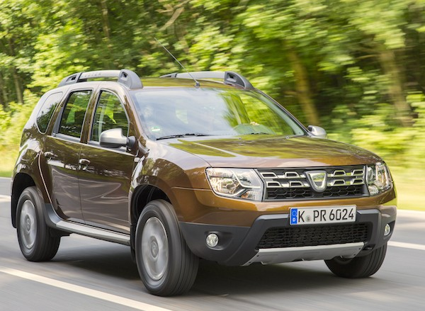 Dacia Duster New Caledonia 2015