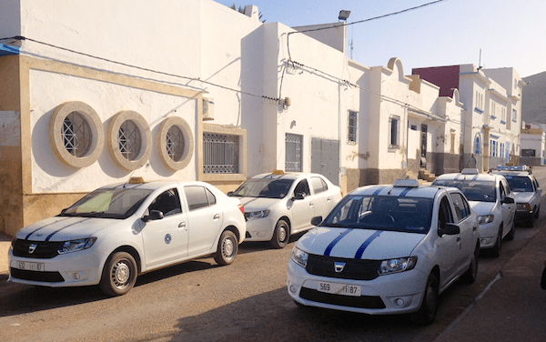 Dacia Logan Taxi Morocco 2015. Picture courtesy left-lane.com