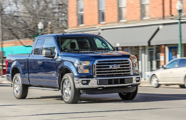 Ford F-Series USA April 2016. Picture courtesy caranddriver.com